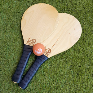 TFC Frescobol Double Paddle Set [Birch]