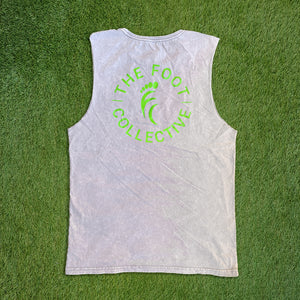 Men's Tank - Grey Snow