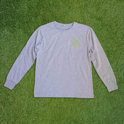 Women's Long Sleeve Shirt - Grey Marle