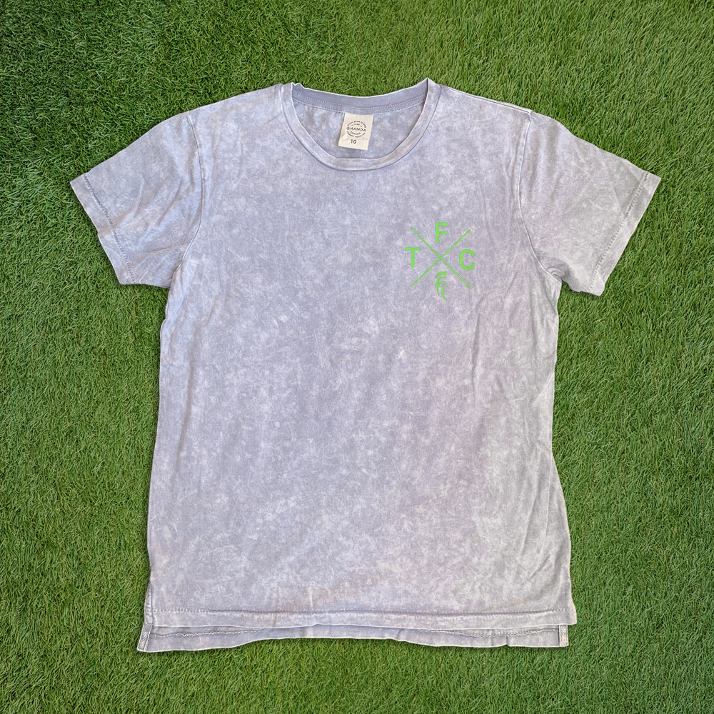 Women's Short Sleeve T-Shirt - Grey Snow