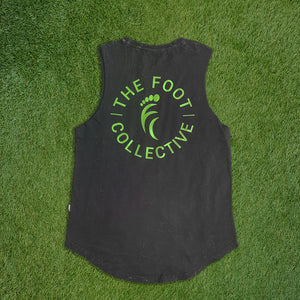 Women's Singlet - Dark Acid Black