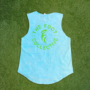 Women's Singlet - Rave Blue