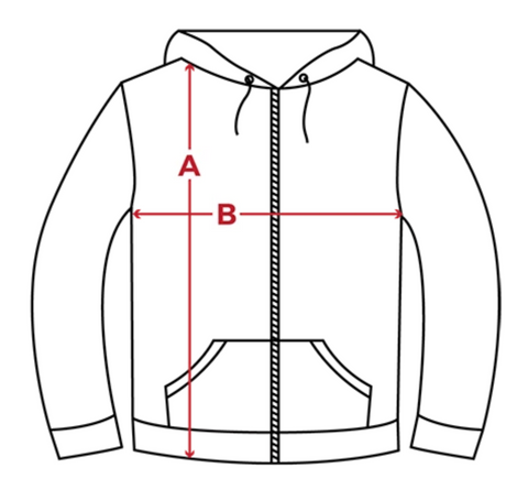 IamEmpowerd-Hoodies-Sizing-Diagram