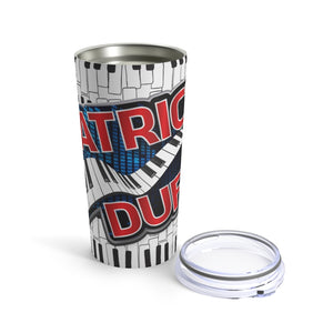 Patrick Duffy Music 20oz Stainless Hot/Cold Tumbler