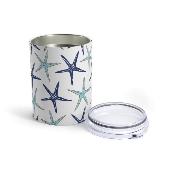 Blue Starfish 10oz Insulated Tumbler