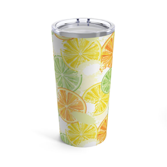 Citrus Slices 20oz Hot/Cold Stainless Tumbler