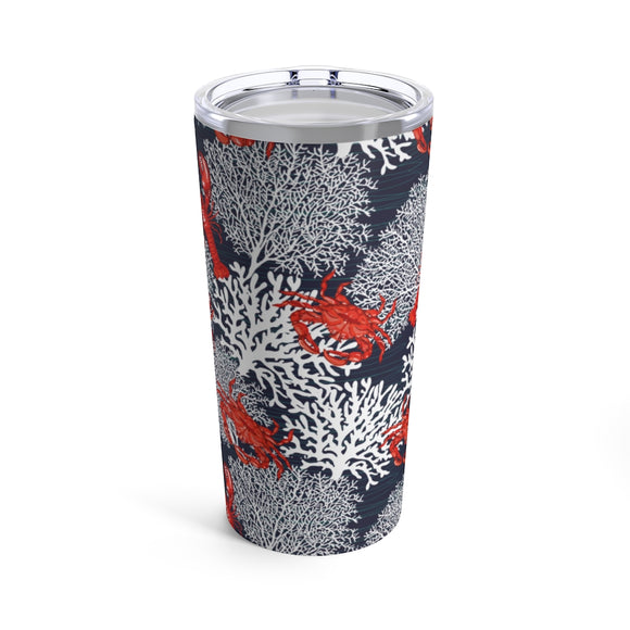 Lobster Crab & Coral 20oz Hot/Cold Stainless Tumbler