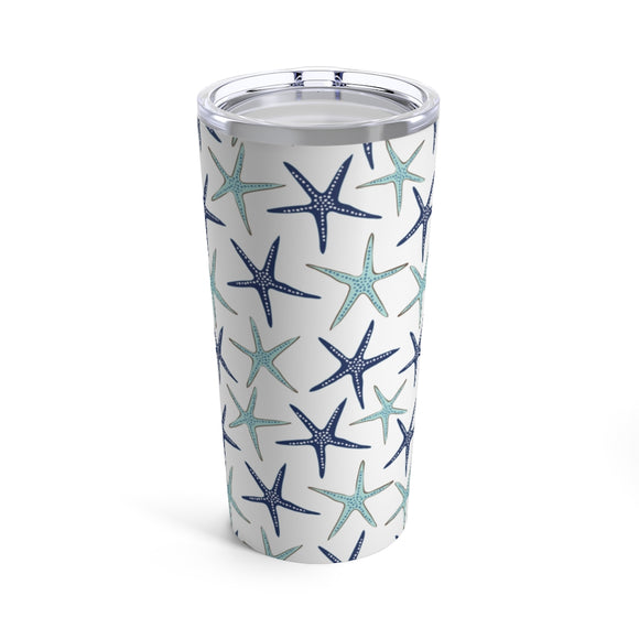 Blue Starfish 20oz Hot/Cold Stainless Tumbler