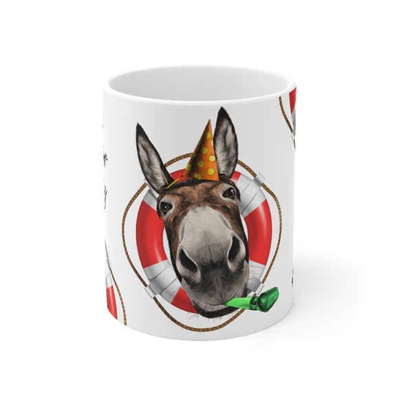 Cruise Director Donkey 11oz Ceramic Mug