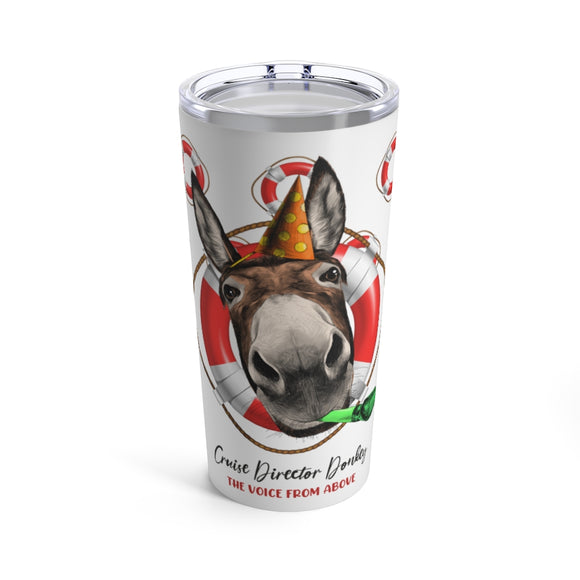 Cruise Director Donkey 20oz Stainless Hot/Cold Tumbler