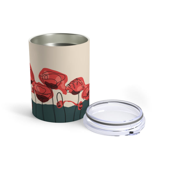 Veteran Remembrance Poppy 10oz Insulated Tumbler