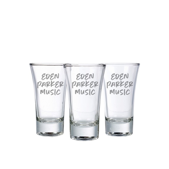 Eden Parker Music Shot Glasses