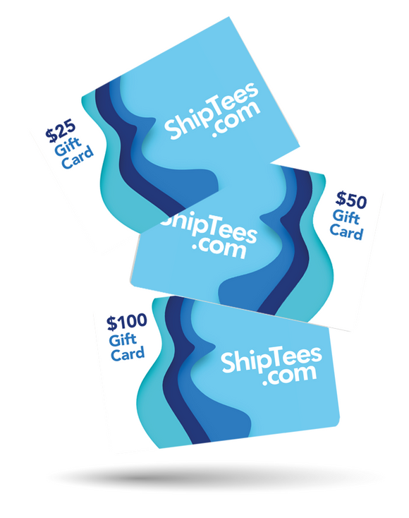 ShipTees.com Custom Cruise Shirts Gift Card