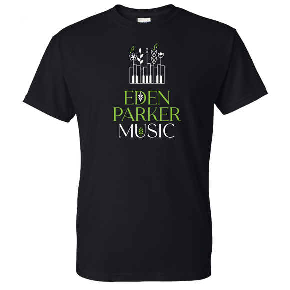 Eden Parker Music Piano Keys Logo