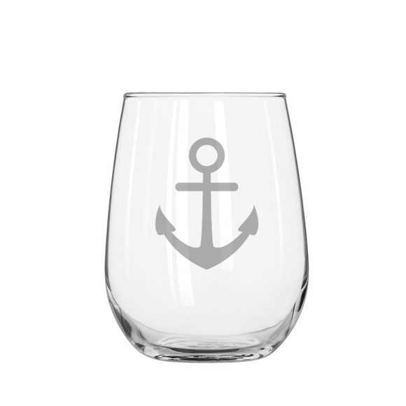ANCHOR Stemless Wine Glass