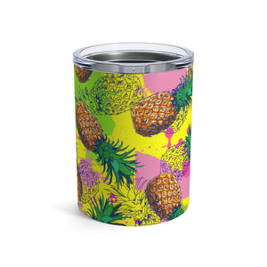 Bright Pineapples 10oz Insulated Tumbler