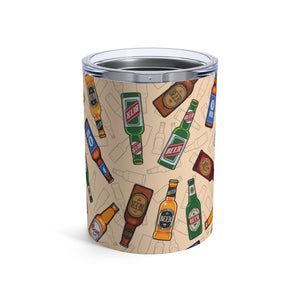 Beer Bottles 10oz Insulated Tumbler