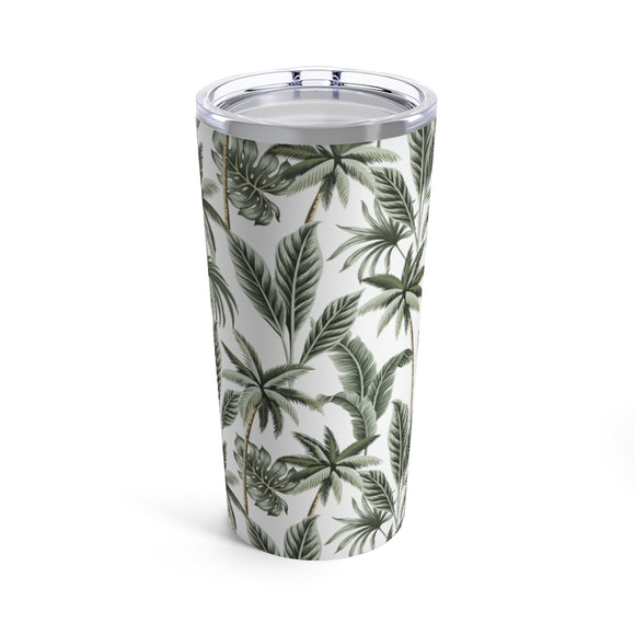 Tropical Palms 20oz Hot/Cold Stainless Tumbler