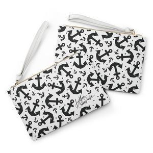 Lee Your Cruise Director Anchors Clutch Bag