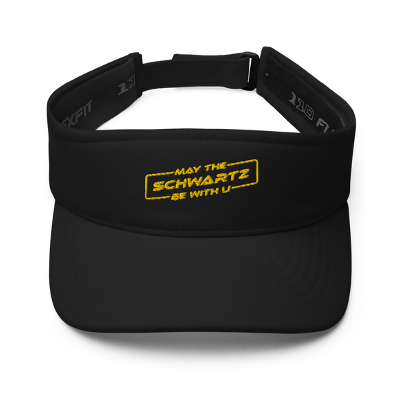 May the Schwartz Be with U Embroidered Visor