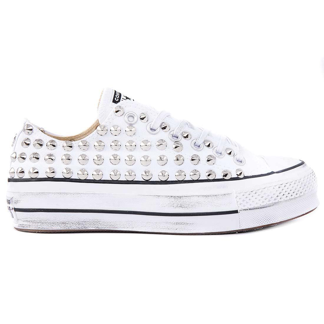 converse bianca all star