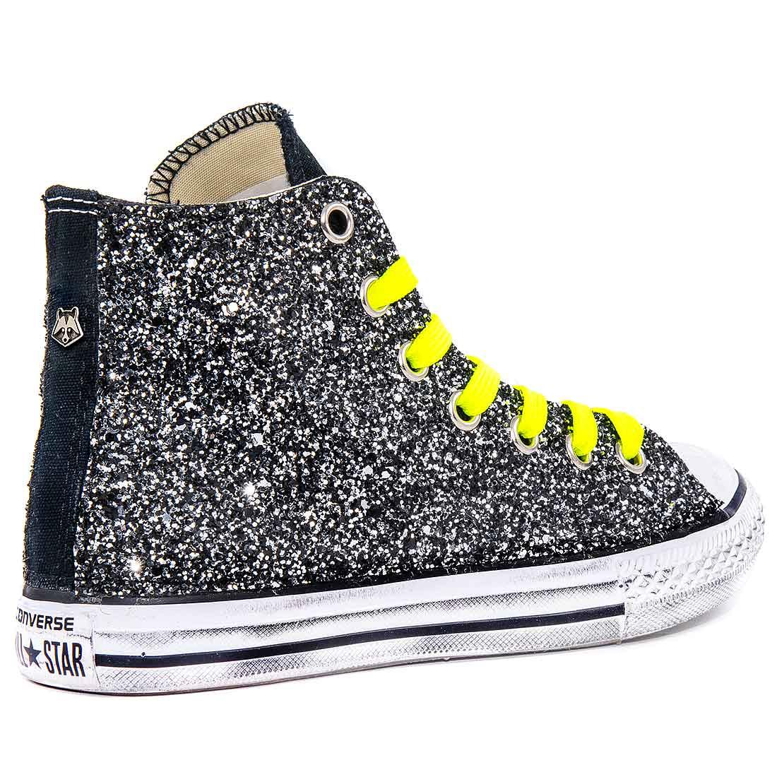 2converse all star gialle alte