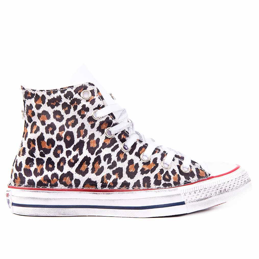 Scarpe-Converse-leopardate-All-Star-personalizzate-Animalier-leopardate-Racoon-LAB