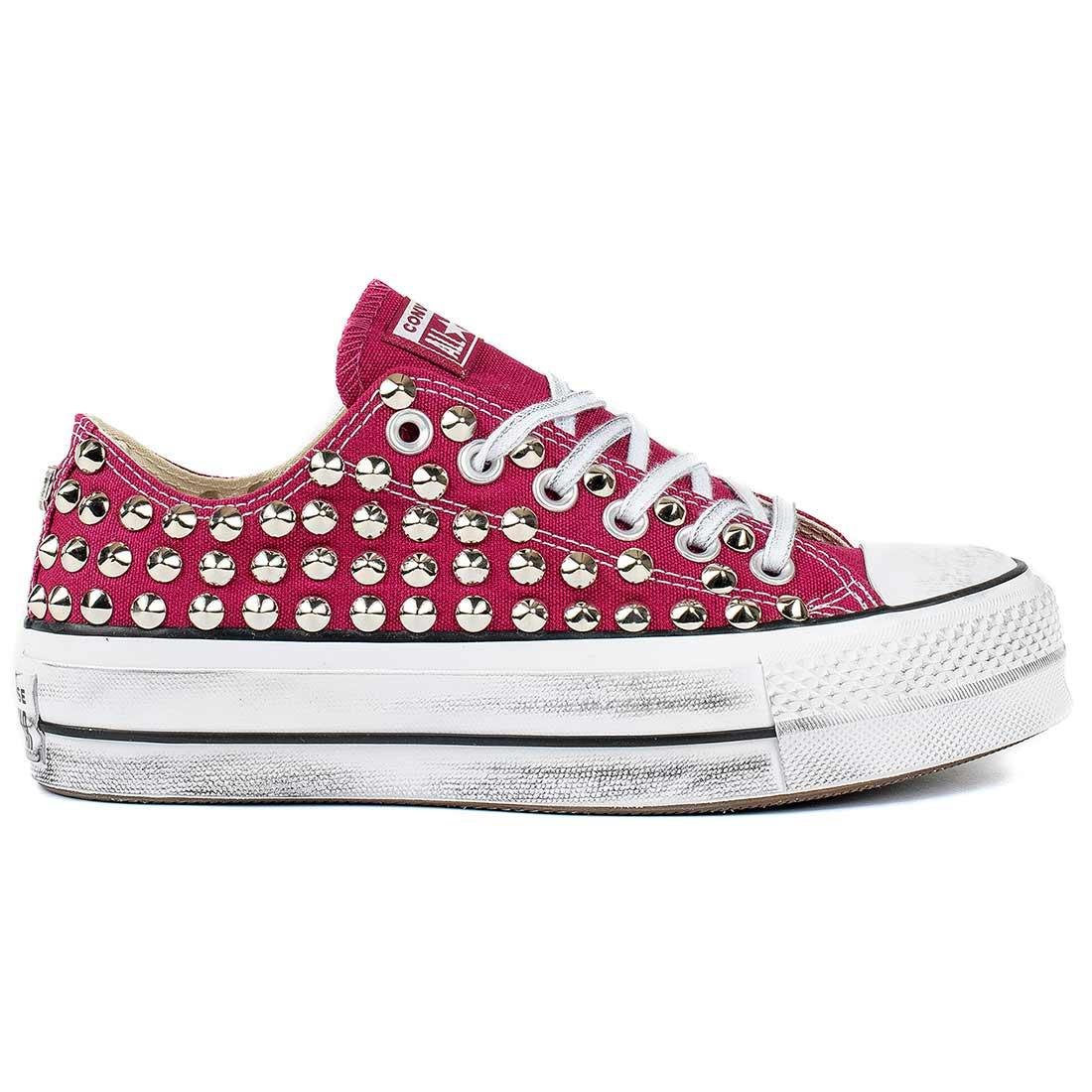 all star converse platform alte borchie