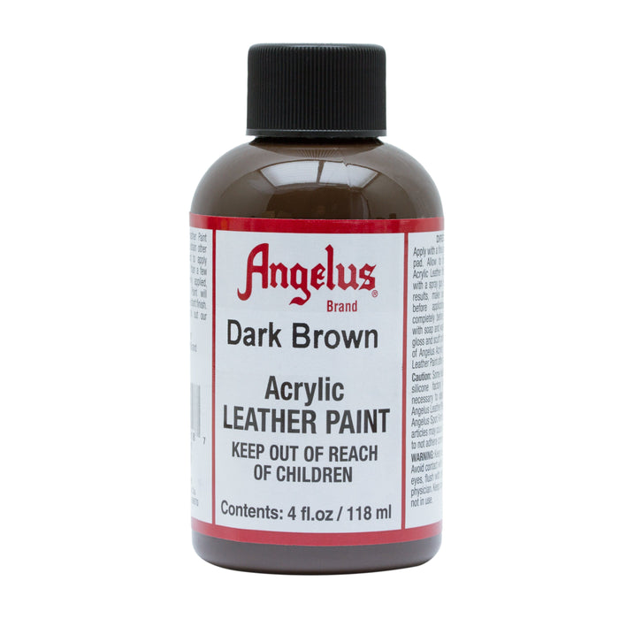 Angelus Dark Brown Acrylic Leather Paint