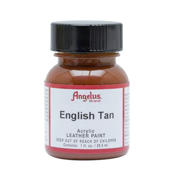Angelus English Tan Leather Paint