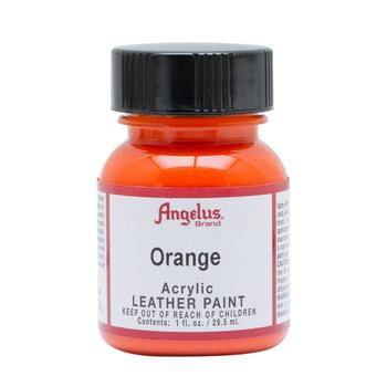 Angelus Orange Leather Paint