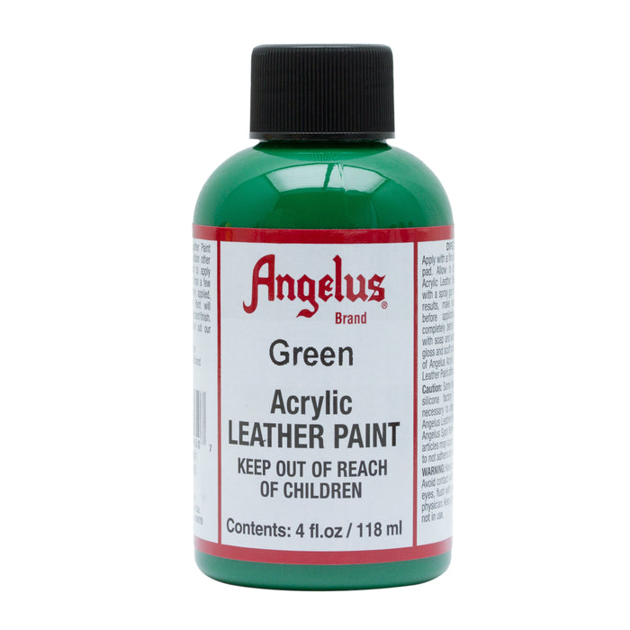 Angelus Green Acrylic Leather Paint