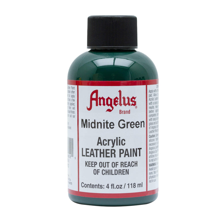 Angelus Midnite Green Acrylic Leather Paint