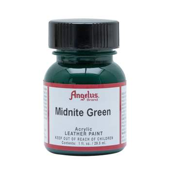 Angelus Midnite Green Leather Paint