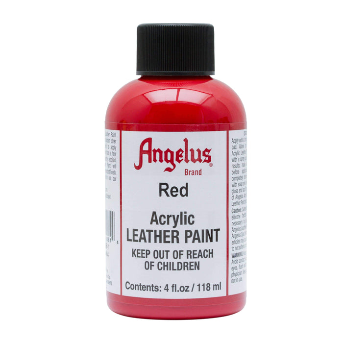 Angelus Red Acrylic Leather Paint