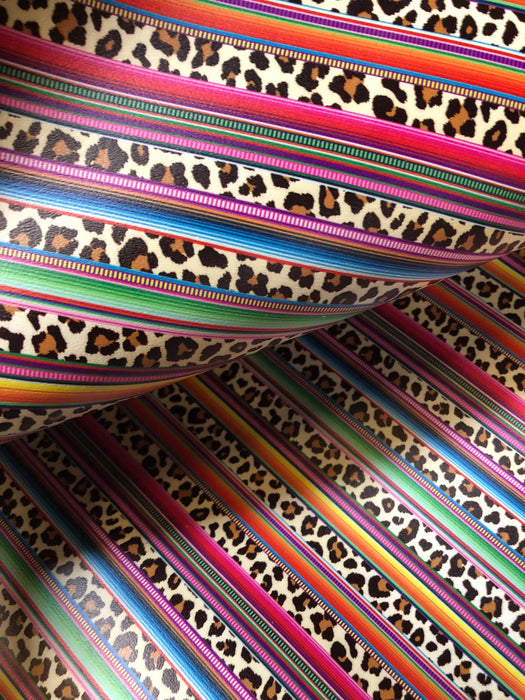 Wild Serape - Printed Upholstery Vinyl Faux Leather