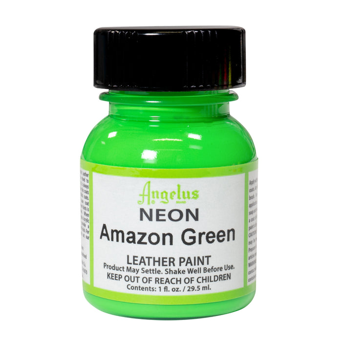 Angelus Amazon Green Neon Acrylic Leather Paint