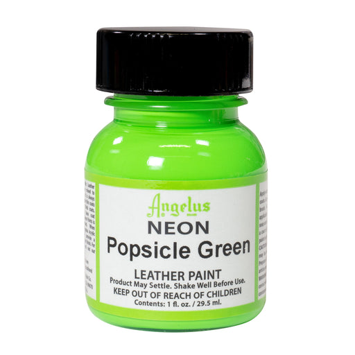 Angelus Popsicle Green Neon Acrylic Leather Paint