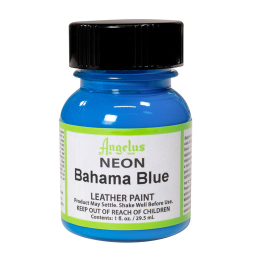 Angelus Bahama Blue Neon Acrylic Leather Paint