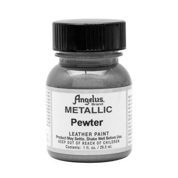 Angelus Pewter Leather Paint
