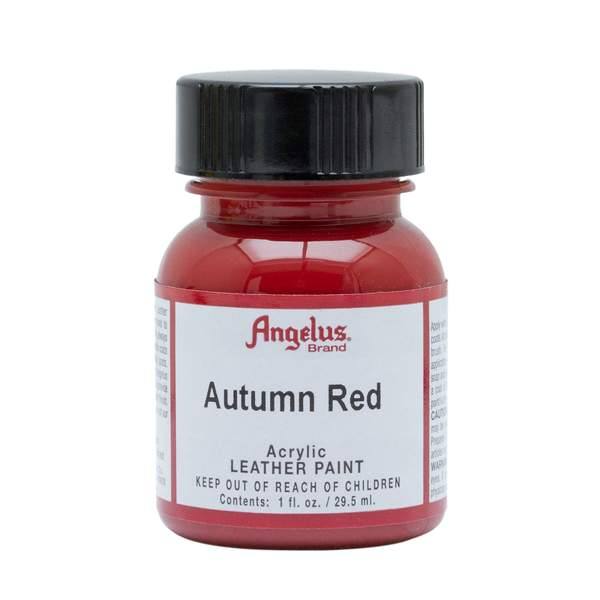 Angelus Autumn Red Leather Paint