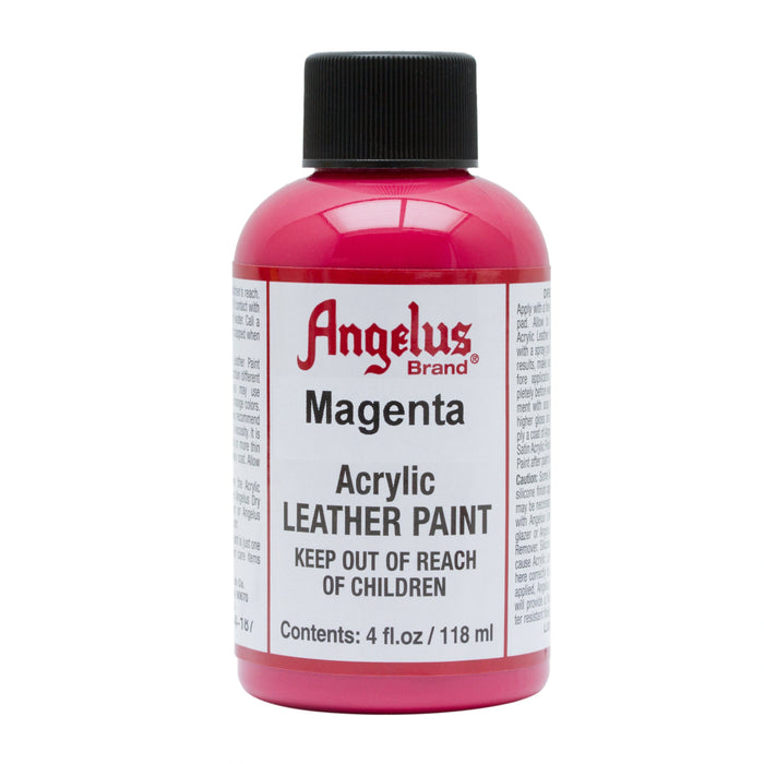 Angelus Magenta Acrylic Leather Paint