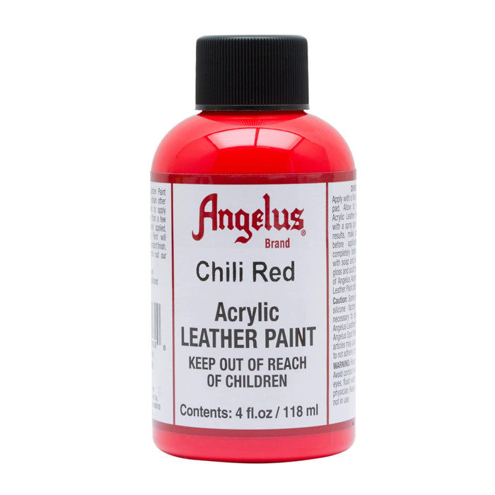Angelus Chili Red Leather Paint