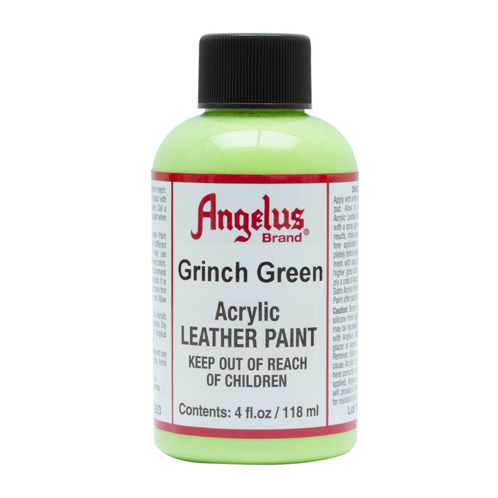 Angelus Grinch Green Acrylic Leather Paint