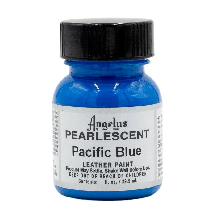 Angelus Pearlescent Leather Paint Pacific Blue