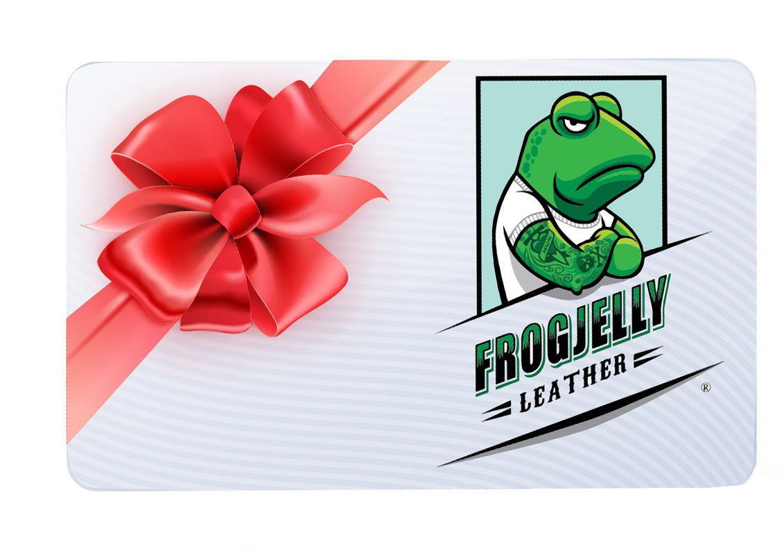 Frogjelly Leather Gift Card