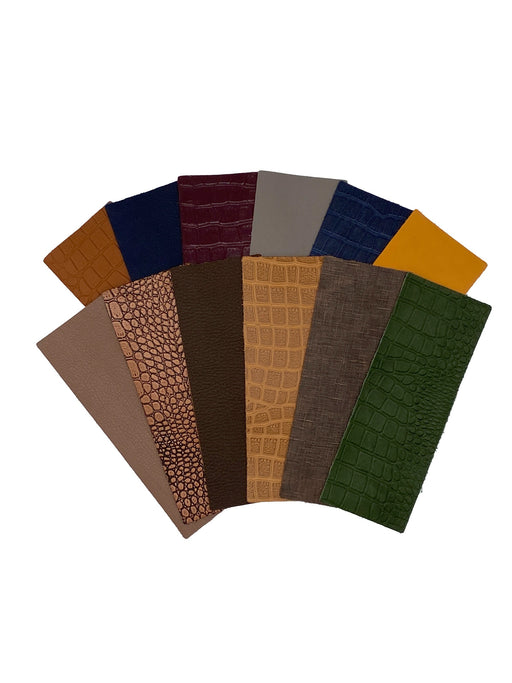 Jewel Tone Leather Panel Sets