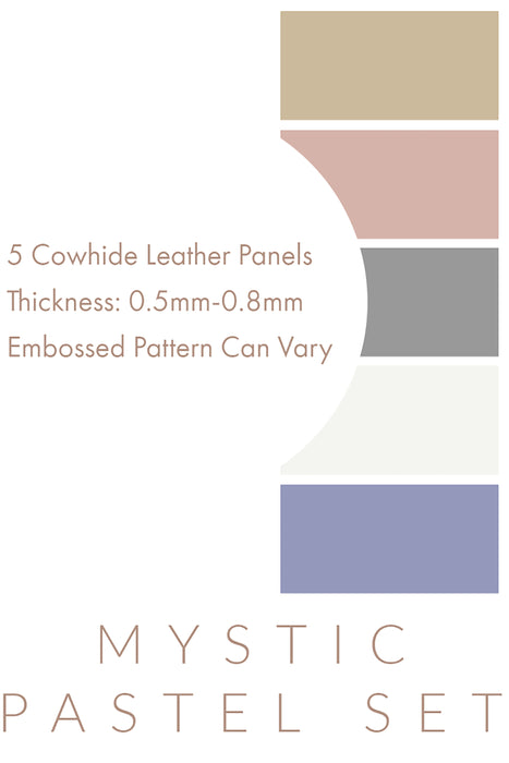 Pastel Leather Panel Sets