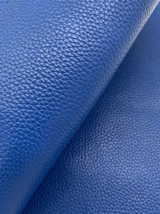 Cobalt Blue Cowhide Leather Sheet