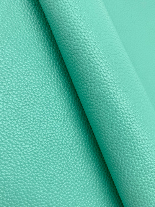 Organic Green Cowhide Leather Sheet